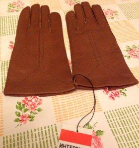 Новые!!! Кожаные перчатки