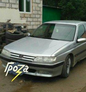 Пежо 605 2.5 дизель 1999г