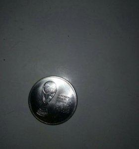 Монета к чемпионату мира 25 р