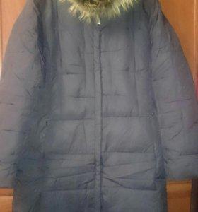 Пальто - пуховичок р. 46 зима