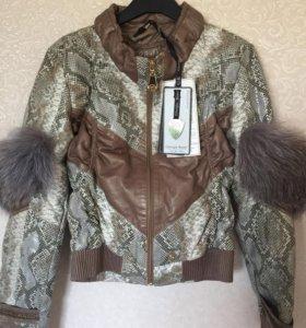 Кожаная куртка Giorgio Rotti