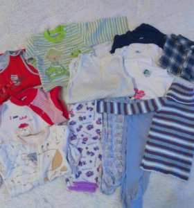 Одежда на ребенка пакетом