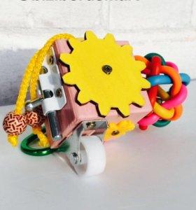 Бизикубик/бизиборд/развивающая игрушка