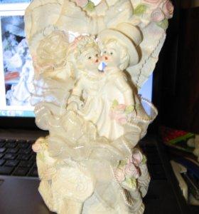 Фигурка - статуэтка на торт молодоженов