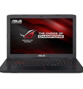 Ноутбук игровой asus GL552VX(SKL) -DM427T