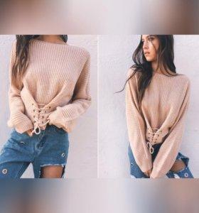 Свитер пуловер джемпер новый
