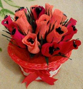 Букет из цветов на заказ