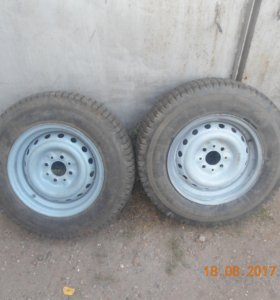 Колёса ВАЗ на прицеп 165/80/13.
