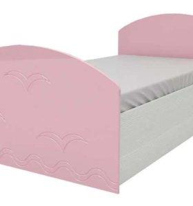 Кровать в детскую с фабрики новая