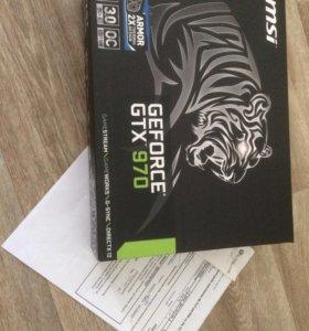 Msi GeForce GTX 970 4 Гб 256 бит для игр