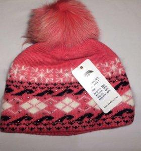 Тёплая мягкая новая шапка