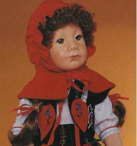Виниловая кукла Красная шапочка, коллекционная