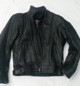 Мужская кожаная куртка IXS