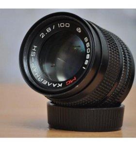 Советские объективы байонет Н аналог Nikon F