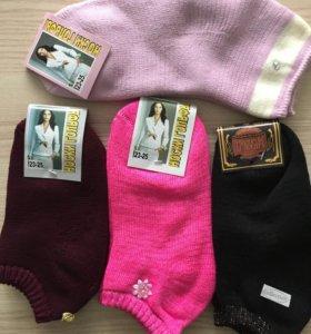 Носки женские махровые новые
