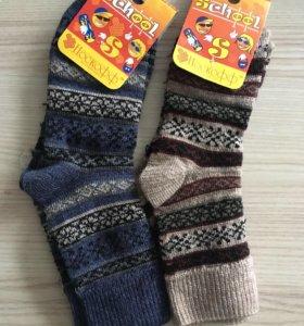 Носки детские тёплые новые