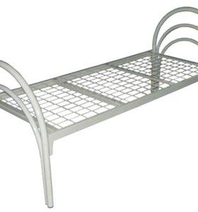 кровать с металлической сеткой для лежачих больных
