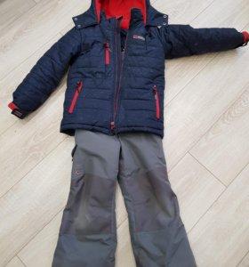 Комплект зимний куртка + полукомбинезон Gusti