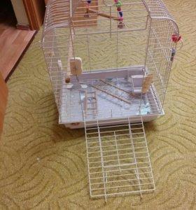 клетка большая для попугаев