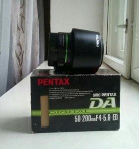 Обьектив Pentax SMC DA 50-200 mm F4-5,6 ED