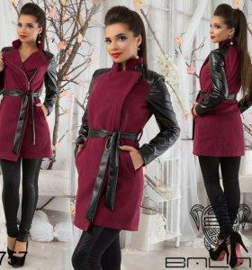 Кашемировое пальто 46 размер