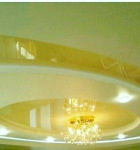 Ремонт и отделочные работы(Натяжные потолки)