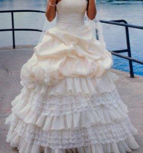 Продам!Красивое,свадебное платье 👍🏻