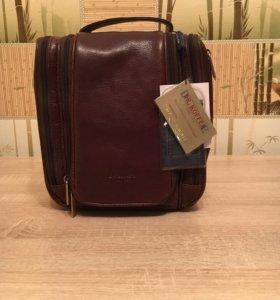 Новая кожаная сумка dr.koffer
