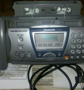 Стационарный телефон факс.