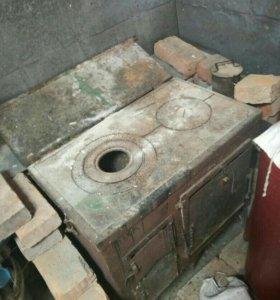 Печь дровяная для дачи