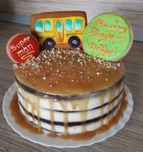 Торт на заказ для детей и взрослых