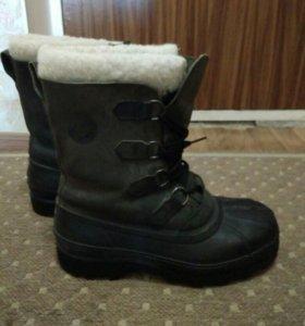 Сапоги-ботинки утепленные