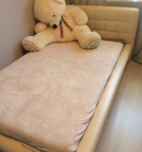 Кровать стеганая