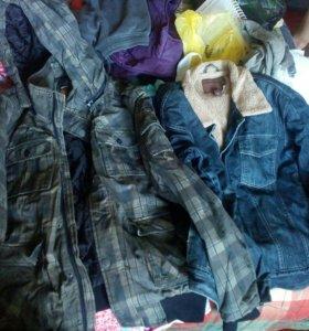 Мужские куртки, демисезон. Размер - L.