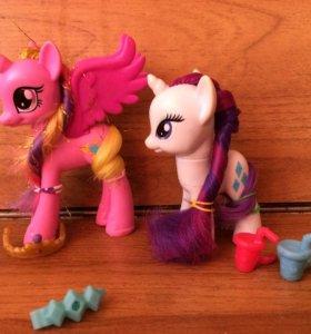 My little pony Рарити и Принцесса Каденс