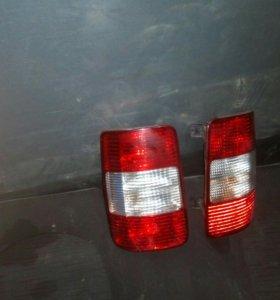 фонари задние на фольсваген caddy 2010