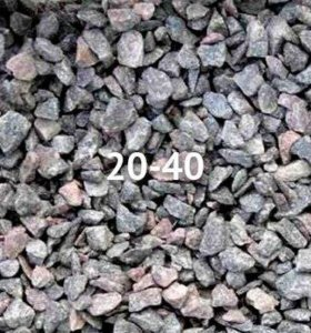 Щебень гранитный 20-40