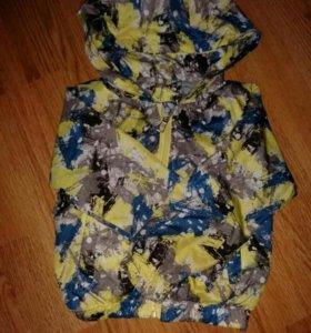 Легкая детская куртка, ветровка, рост 74-80