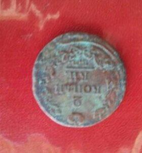 Монета. 2коп1814года. Брак.