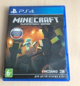 Игра ps4 Minecraft