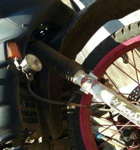 Мотоцикл honda transalp 600