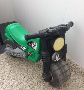 Мотоцикл беговой, самокат