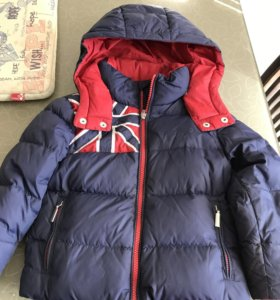 Куртка тёплая, пуховик на 2-3 года