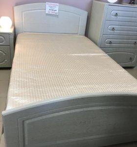 Кровать,комод,тумба МДФ