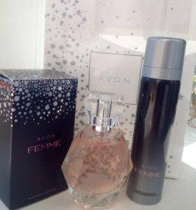 Парфюмерный набор Avon Femme