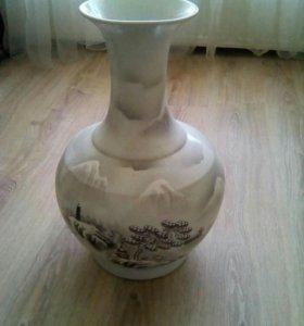 Ваза напольная керамика высота 53 см