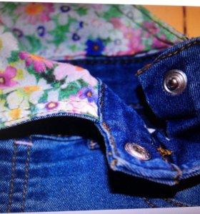 Комбинезон джинсовый mothercare