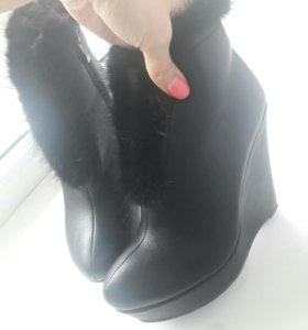 Осень ботинки 39р
