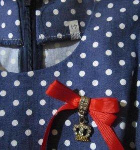 Платье(надето раз)