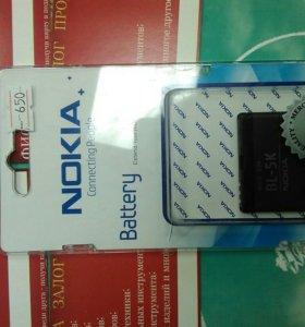 Батарея Nokia BL-5k